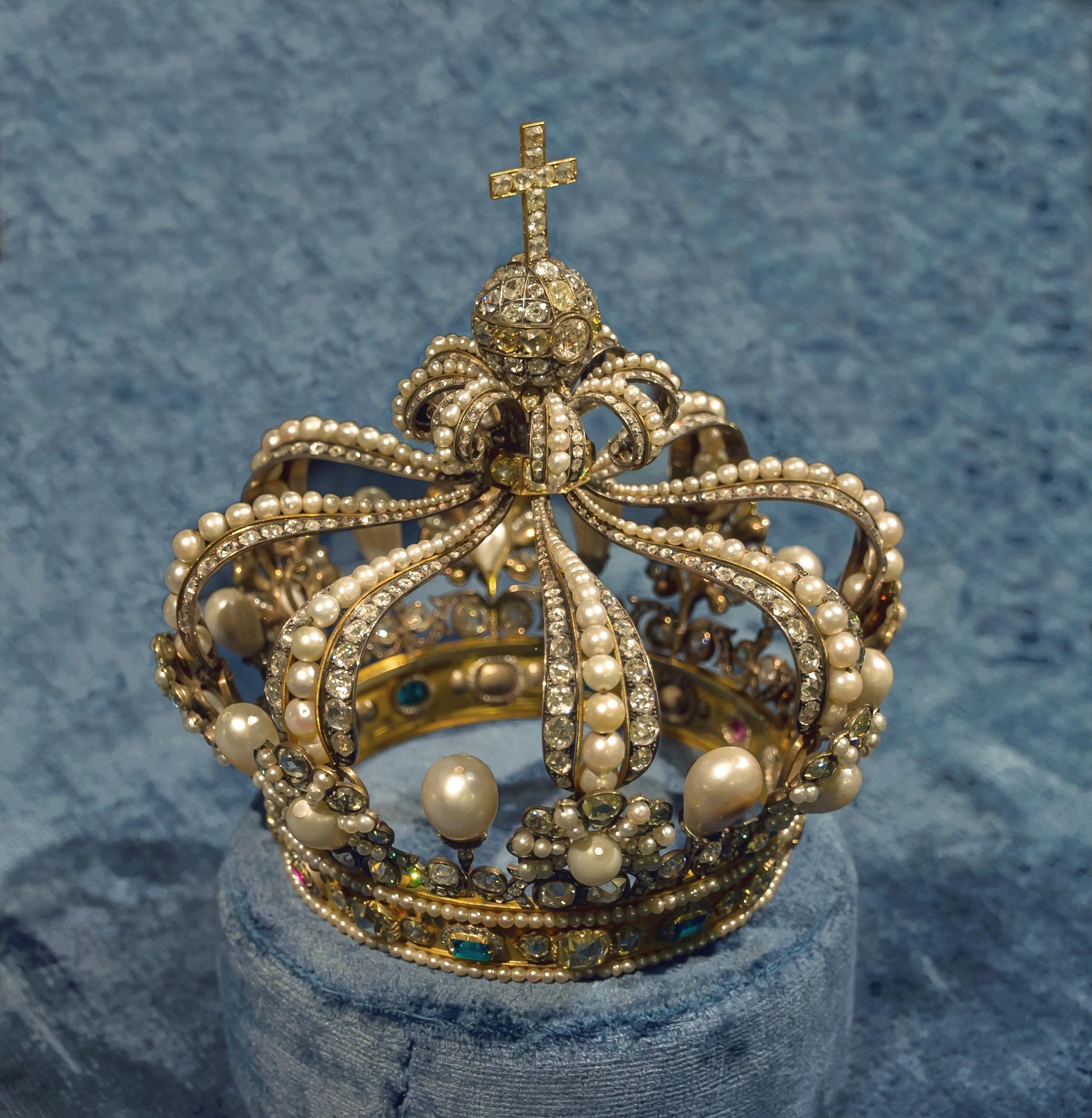 Die Krone eines Königs